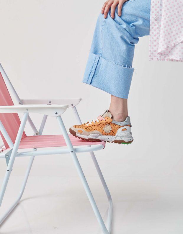 נעלי נשים - Satorisan - סניקרס מחוררות  CHACRONA - כתום