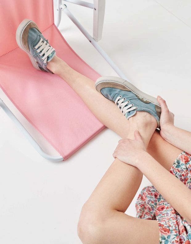 נעלי נשים - Satorisan - סניקרס בד REIWA - ג'ינס