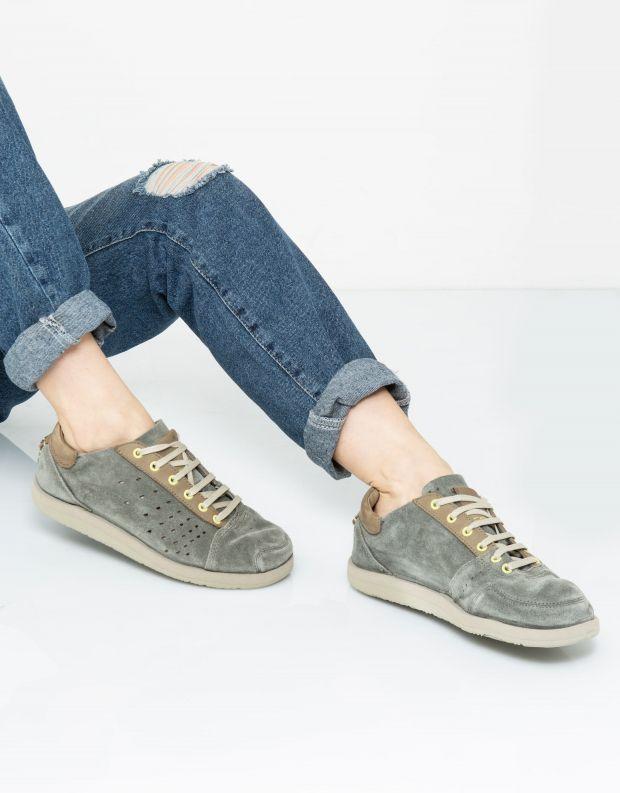 נעלי נשים - Satorisan - סניקרס TATE SUEDE - אפור