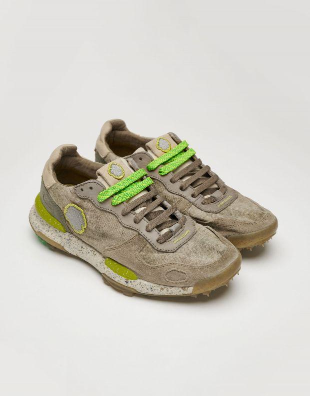 נעלי גברים - Satorisan - סניקרס בד CHACRONA - חום