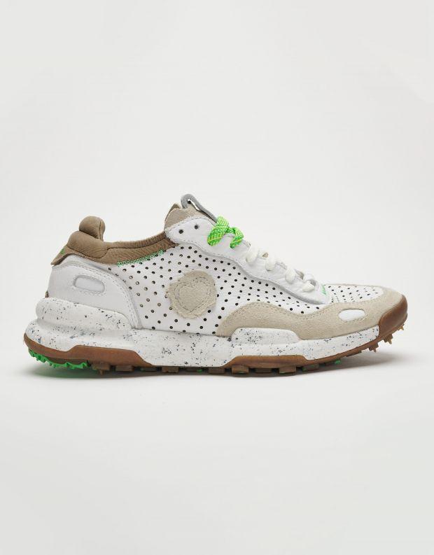 נעלי גברים - Satorisan - סניקרס מחוררות CHACRONA - לבן