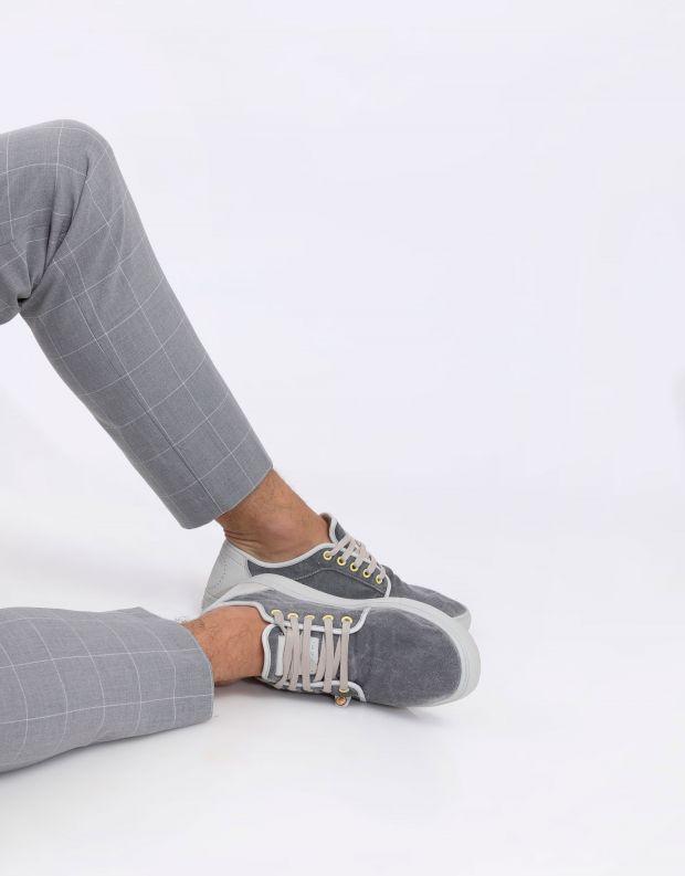 נעלי גברים - Satorisan - סניקרס HEISEI TEXTIL - אפור