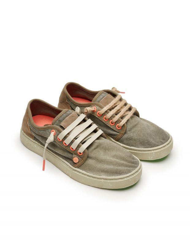 נעלי גברים - Satorisan - סניקרס HEISEI TEXTIL - חום