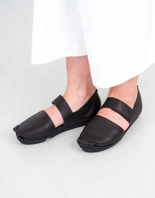 נעלי נשים - Trippen - נעלי בובה POKE PENNA - שחור