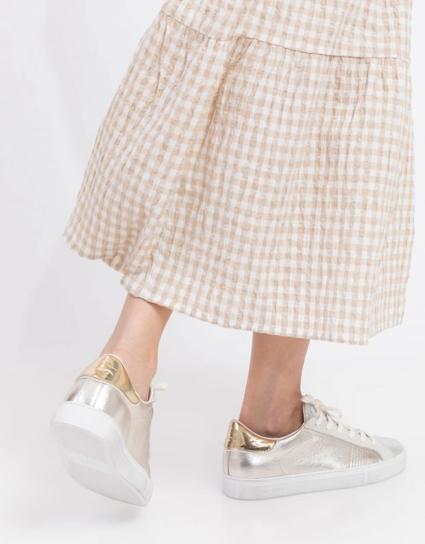 נעלי נשים - Crime London - סניקרס LOW TOP ESSENTIAL - זהב