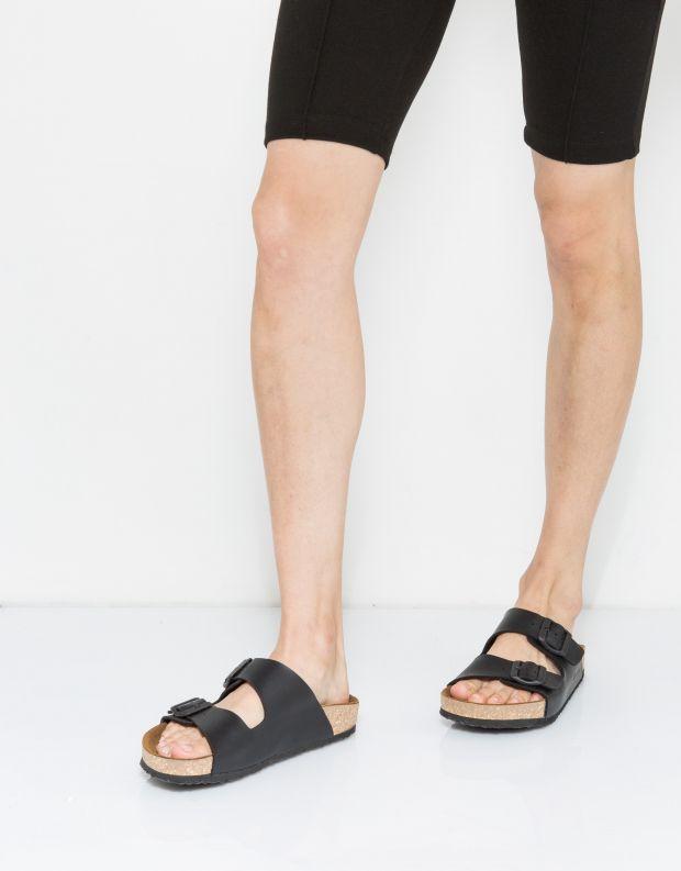 נעלי נשים - El Naturalista - כפכפי WARAJI VEGAN - שחור