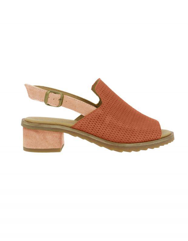 נעלי נשים - El Naturalista - סנדלי עקב SABAL - חמרה
