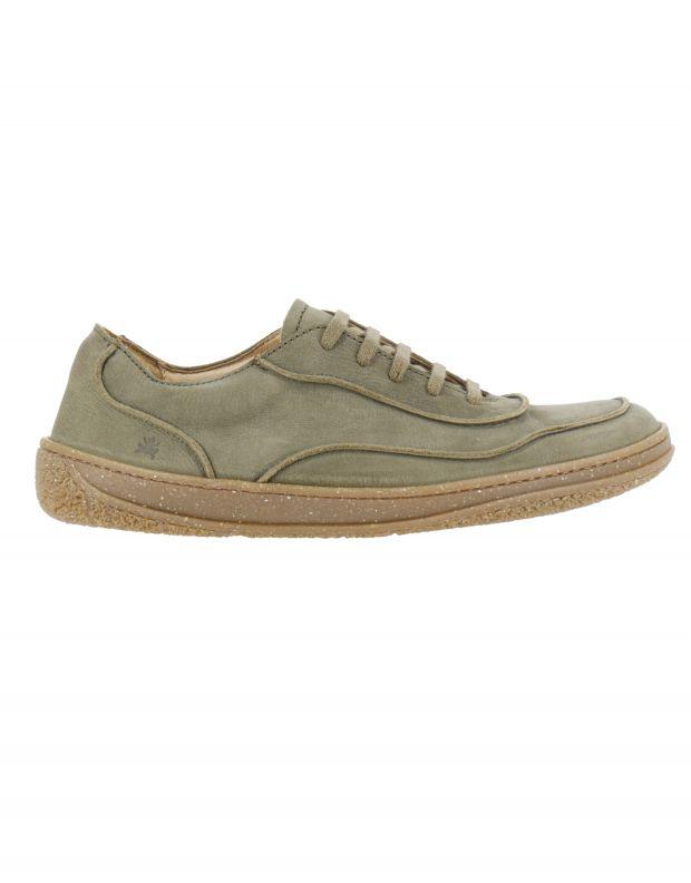 נעלי גברים - El Naturalista - נעליים עם תיפורים AMAZONA - חאקי