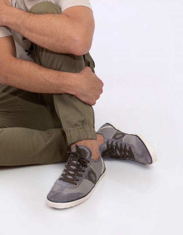 נעלי גברים - Aro - סניקרס PICADA - אפור בהיר