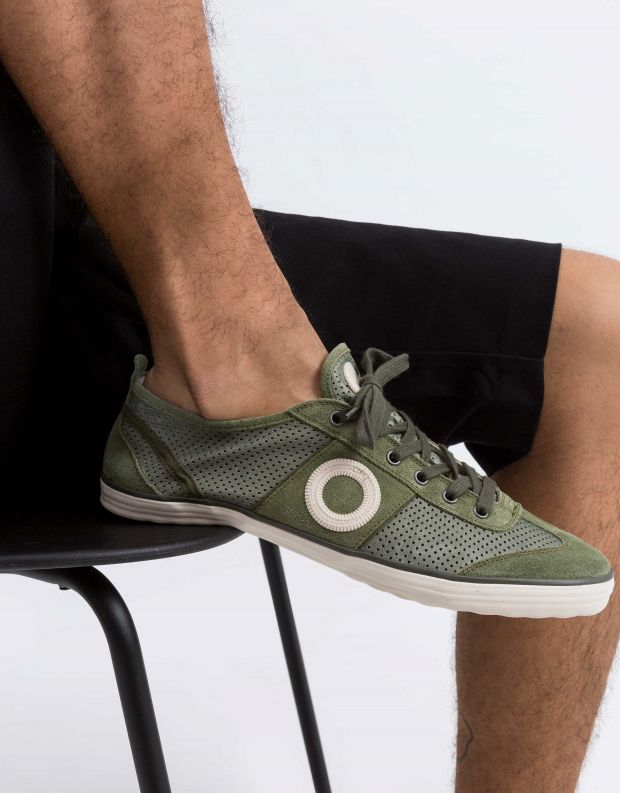 נעלי גברים - Aro - סניקרס PICADA - זית