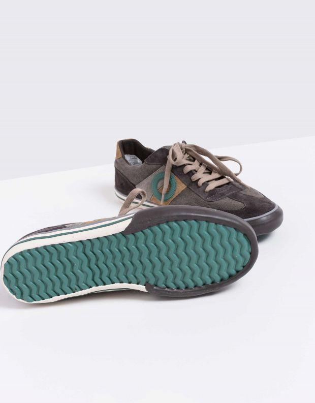 נעלי גברים - Aro - סניקרס POL - אפור כהה