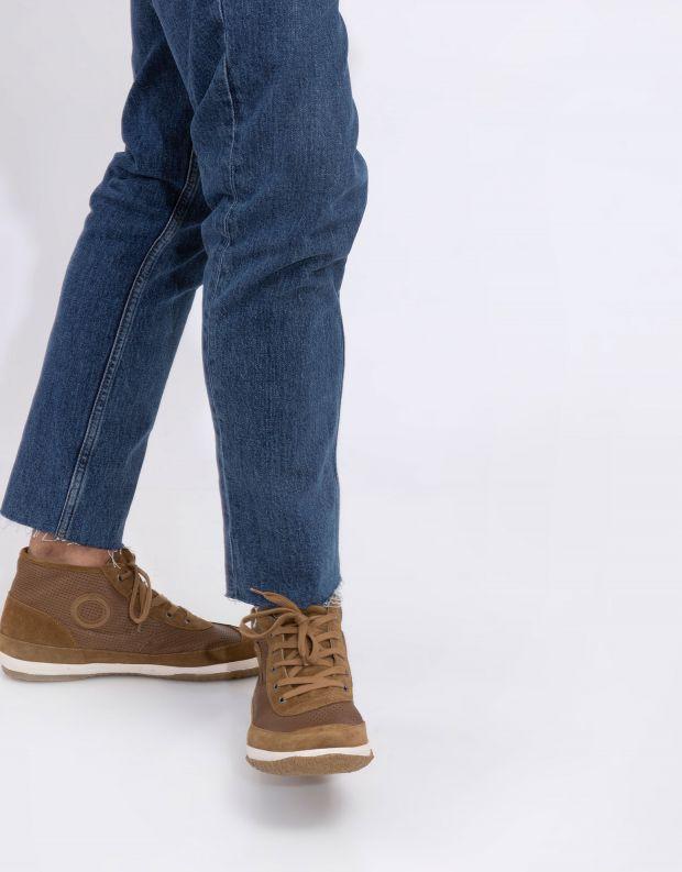 נעלי גברים - Aro - סניקרס גבוהות WILLY - חום