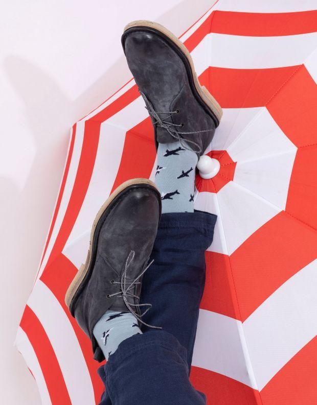 נעלי גברים - A.S. 98 - נעלי עור OASIS - כחול
