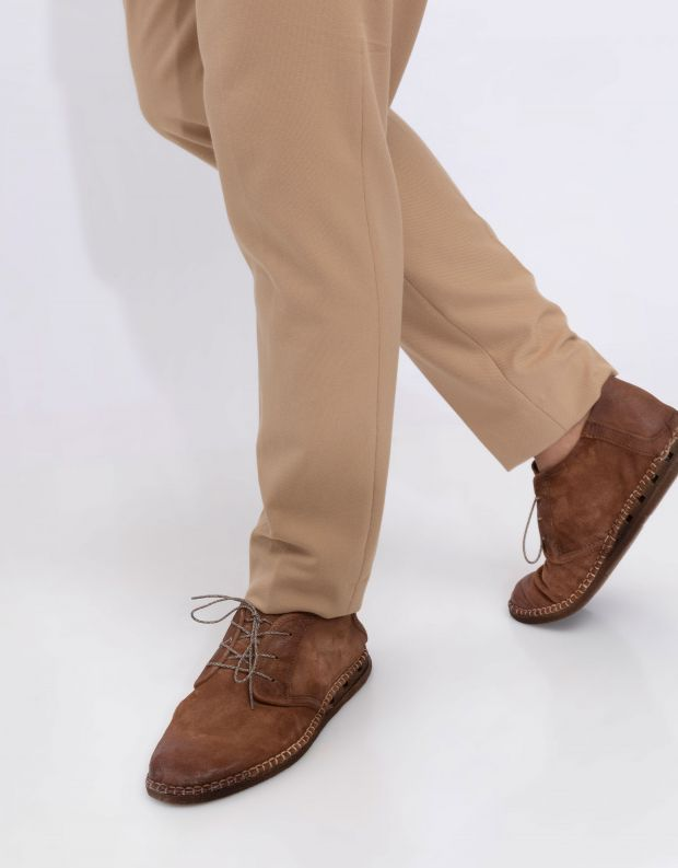 נעלי גברים - A.S. 98 - נעל BASTARD - קוניאק