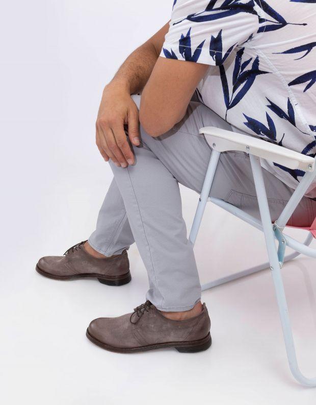 נעלי גברים - A.S. 98 - נעלי דרבי ZUKKO - חום