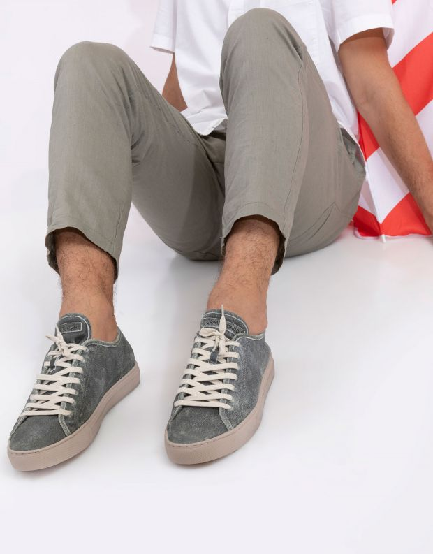 נעלי גברים - Crime London - סניקרס ANGLE CUT ESSENTIA - חאקי