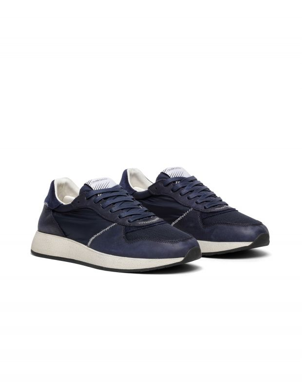 נעלי גברים - Crime London - סניקרס EXTRA LIGHT RUNNER - כחול