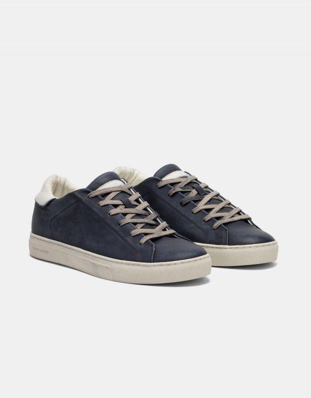 נעלי גברים - Crime London - סניקרס LOW TOP ESSENTIAL - כחול