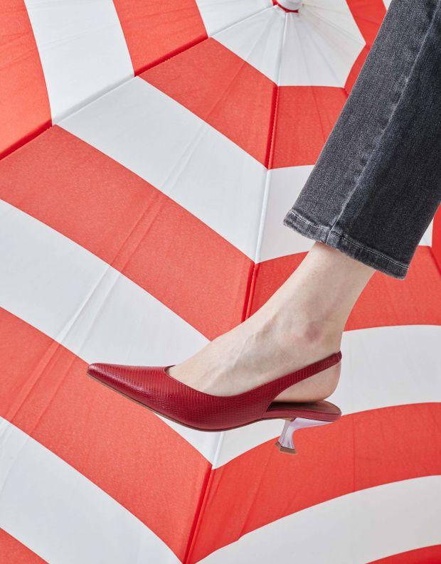 נעלי נשים - Jeffrey Campbell - סירה AMULET - אדום