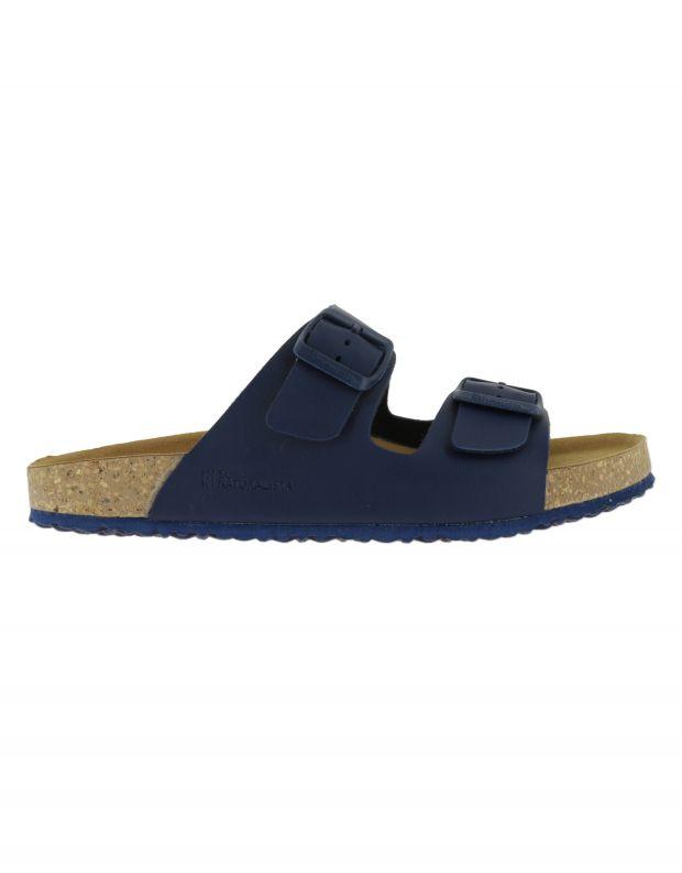 נעלי גברים - El Naturalista - כפכפי WARAJI VEGAN - כחול