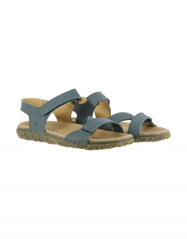 נעלי גברים - El Naturalista - סנדל REDES - אפור