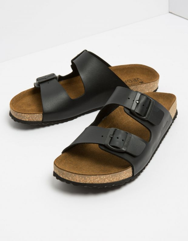 נעלי גברים - El Naturalista - כפכפי WARAJI VEGAN - שחור