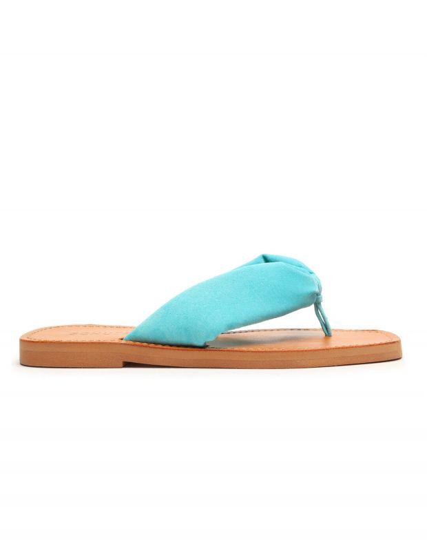 נעלי נשים - Schutz - כפכפי אצבע DOREAH - תכלת