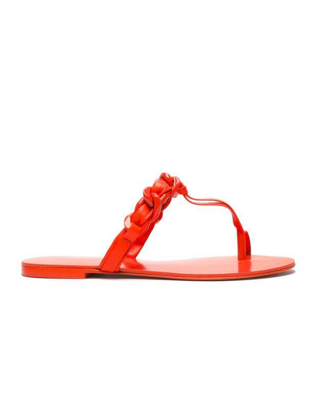 נעלי נשים - Schutz - כפכפי אצבע לולאות LYLOO - כתום