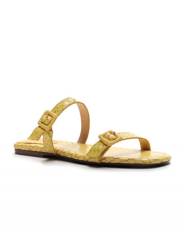 נעלי נשים - Schutz - כפכפי רצועות STELLA נחש - צהוב