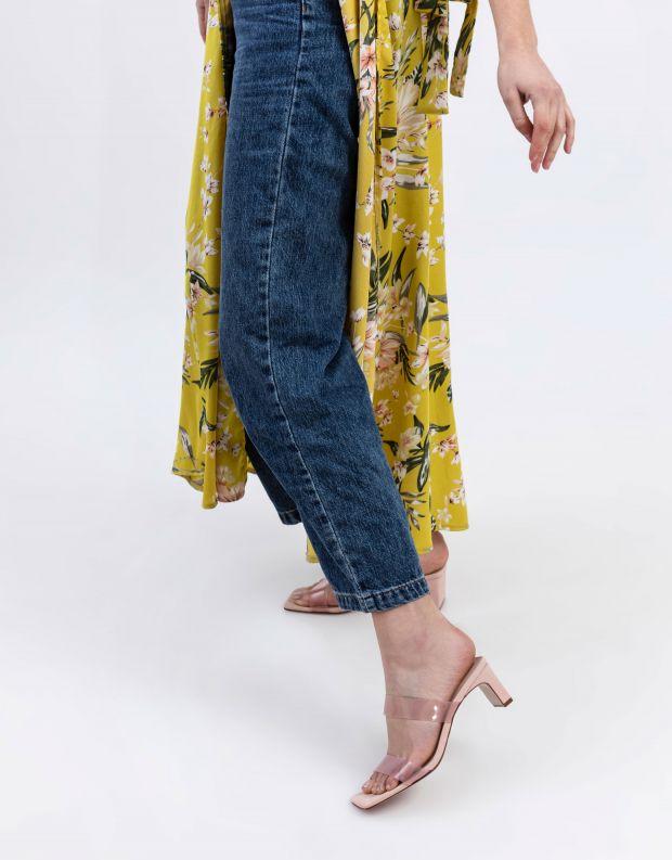 נעלי נשים - Schutz - כפכפי TAINA רצועות שקופות - ורוד