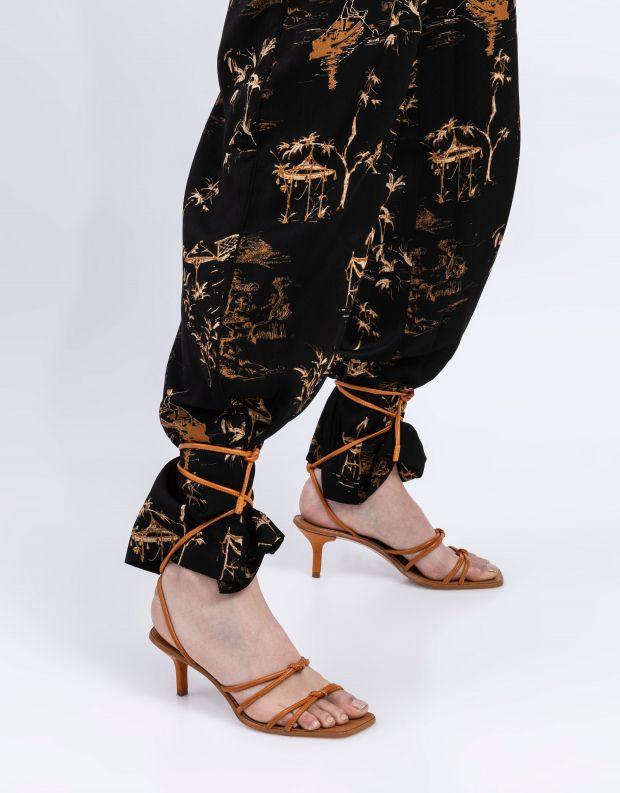 נעלי נשים - Schutz - סנדלי עקב LILLIENNE - טאן
