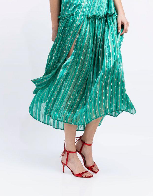 נעלי נשים - Schutz - סנדלי סטליטו NATALIE - אדום