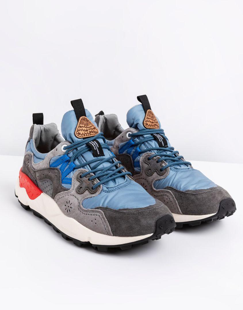 נעלי גברים - Flower Mountain - סניקרס YAMANO 3 - אפור-כחול