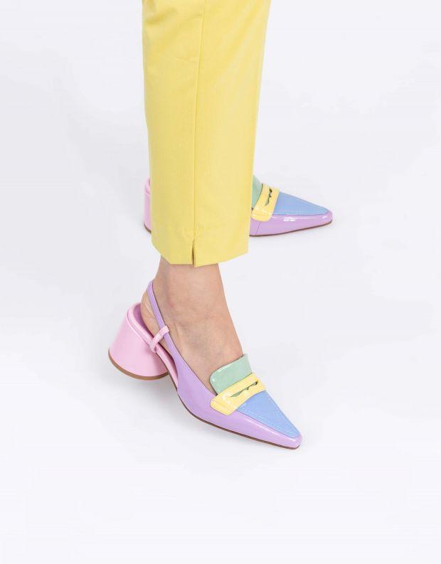 נעלי נשים - Jeffrey Campbell - נעלי סירה FERWAY - לילך