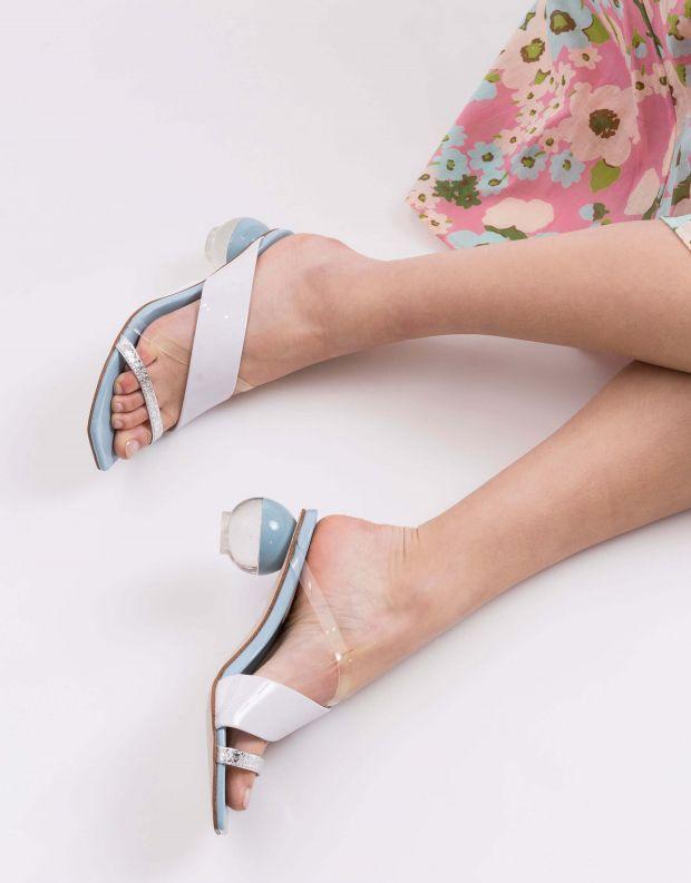 נעלי נשים - Jeffrey Campbell - קבקב LATERAL - תכלת