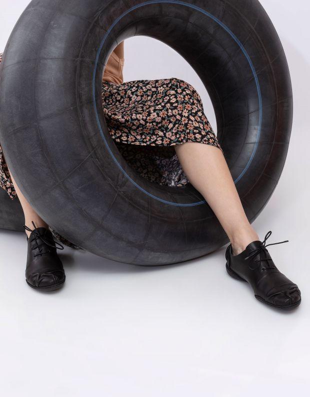 נעלי נשים - Trippen - נעלי עור BRUISE CUP - שחור