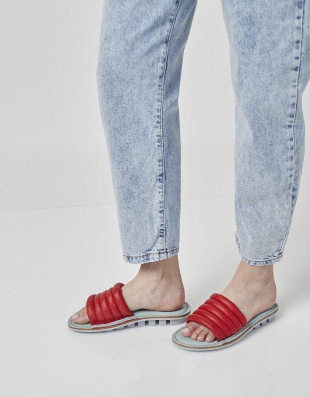 נעלי נשים - Trippen - כפכפים LETTE CLOSED - אדום