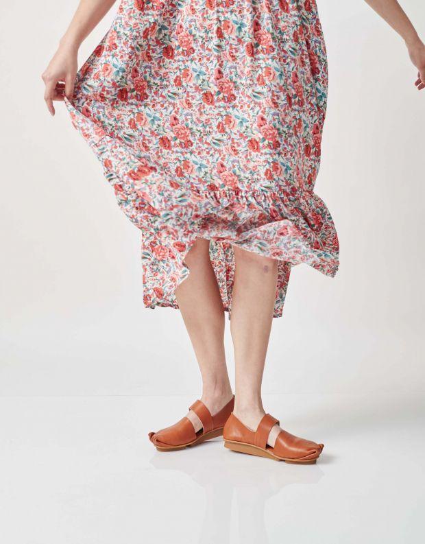 נעלי נשים - Trippen - נעלי בובה POKE PENNA - קאמל