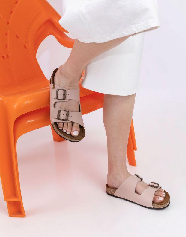 נעלי נשים - El Naturalista - כפכפי WARAJI VEGAN - ניוד