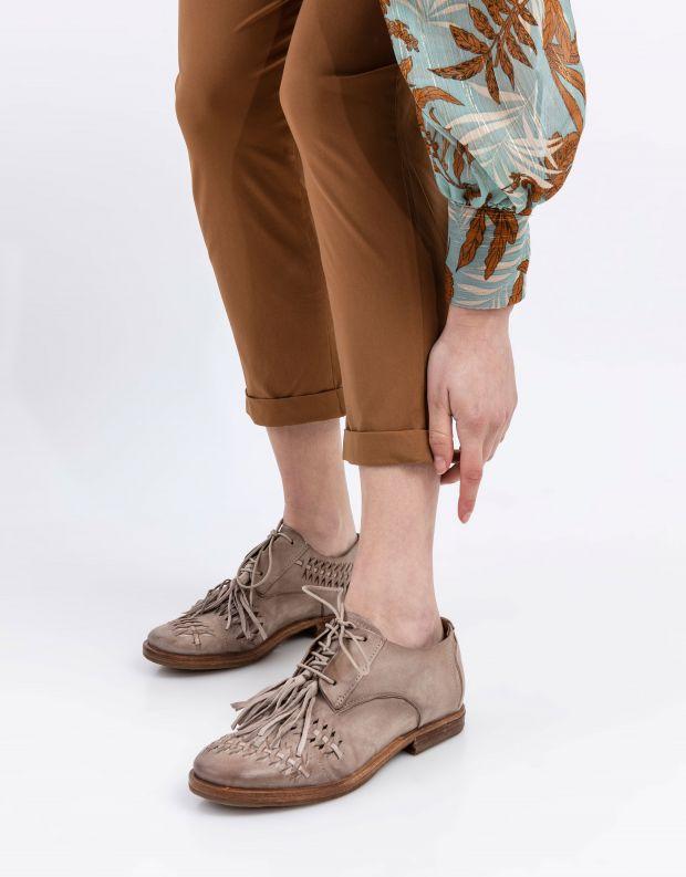 נעלי נשים - A.S. 98 - נעלי שרוכים ZEPORT - אפור