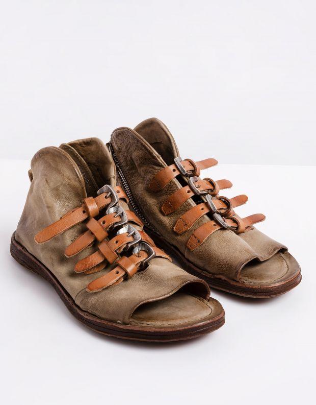 נעלי נשים - A.S. 98 - סנדלים סגורים RAMOS - חאקי