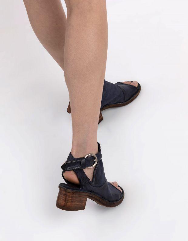 נעלי נשים - A.S. 98 - סנדלי KENYA עם אבזם - כחול