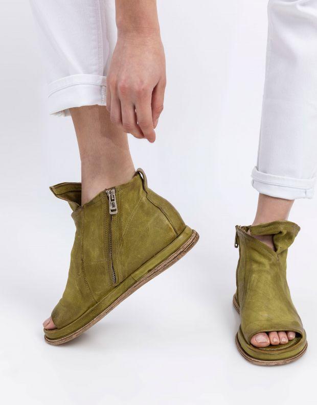 נעלי נשים - A.S. 98 - סנדלים סגורים POLA - ירוק