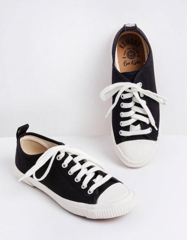נעלי נשים - Komodo - סניקרס ECO - שחור