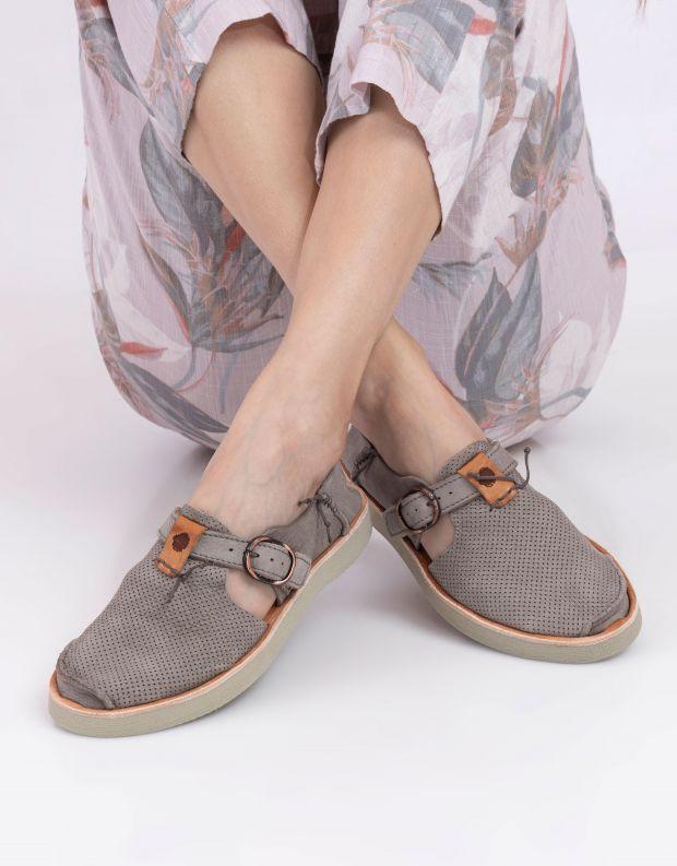 נעלי נשים - Satorisan - נעל BENIRRAS PUNCH - אפור