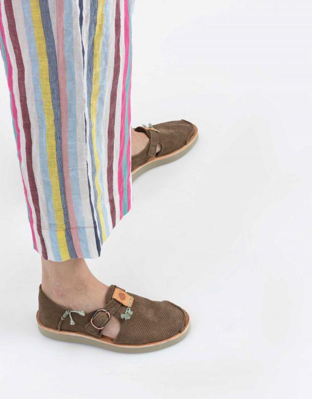 נעלי נשים - Satorisan - נעל BENIRRAS PUNCH - חום