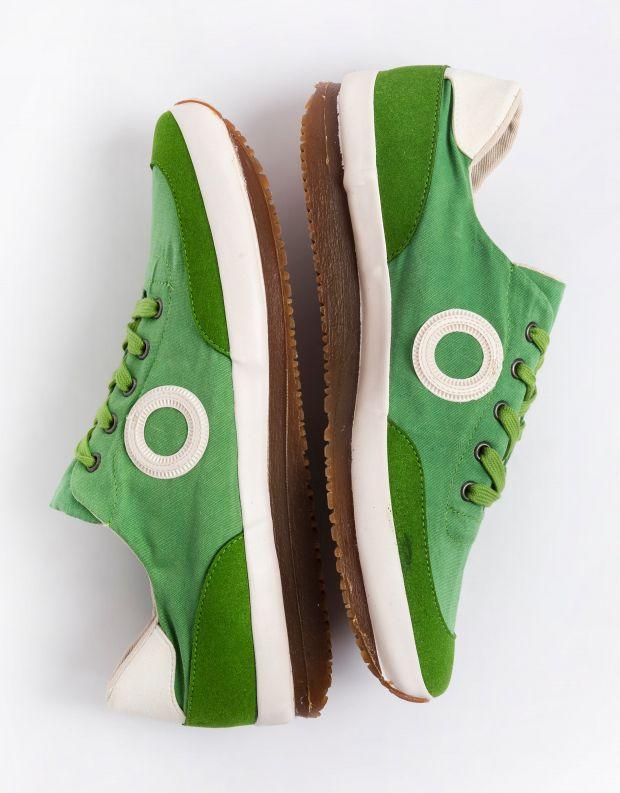 נעלי גברים - Aro - סניקרס בד JAQ - ירוק