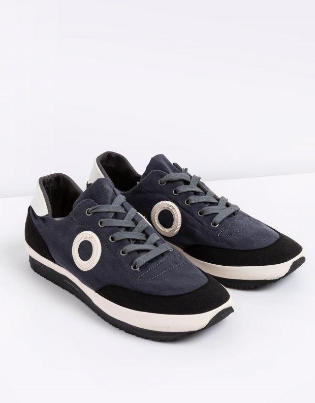 נעלי גברים - Aro - סניקרס בד JAQ - אפור כהה