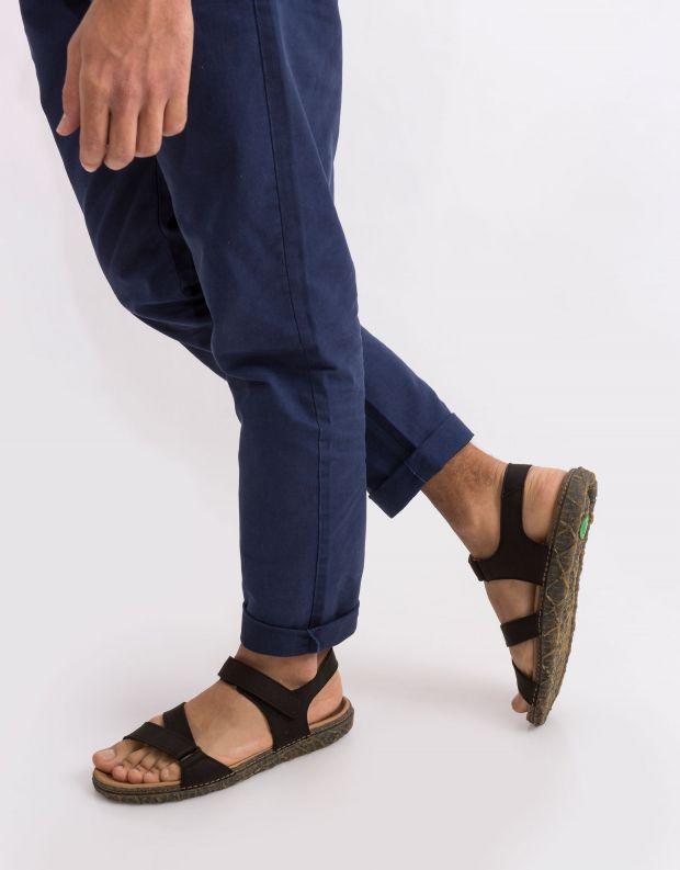 נעלי גברים - El Naturalista - סנדל REDES - שחור