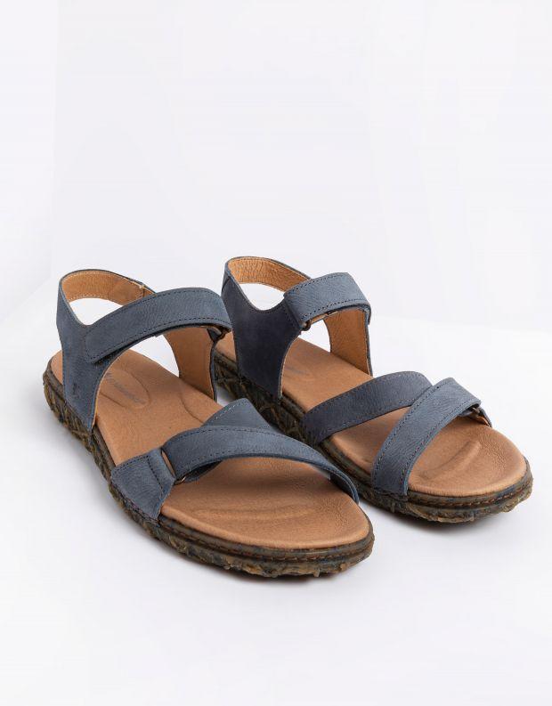 נעלי גברים - El Naturalista - סנדלים REDES - כחול